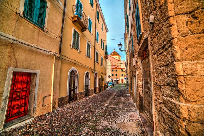 Alghero's Old Town, also known as L'Alguer la Vella, is the main touristic attraction of the town.