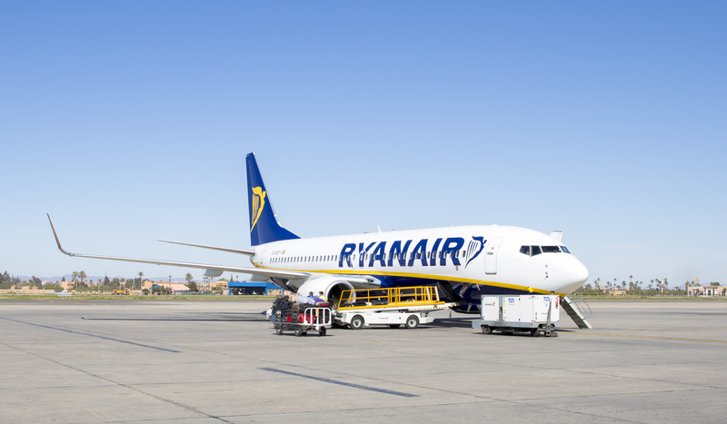 Alghero Airport is a focus city for Ryanair.